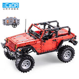 CADA C61006 RC Off-Road Jeep Wrangler - Your World of Building Blocks