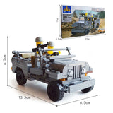 KAZI KY 82007 The US Willys MB Jeep - Your World of Building Blocks