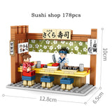 Sembo 601065-601068 Japanese Food Shop