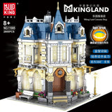 Mould King 11005 Costume Shop with Light bricks