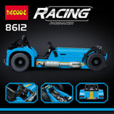 Decool 8612 The Caterham Classic 620R Racing Car - Your World of Building Blocks