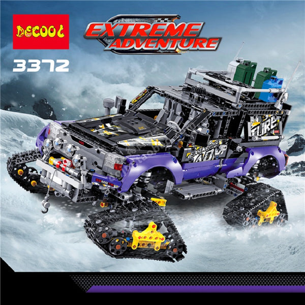 DECOOL 3372 2 In 1 Ultimate Extreme Adventure - Your World of Building Blocks