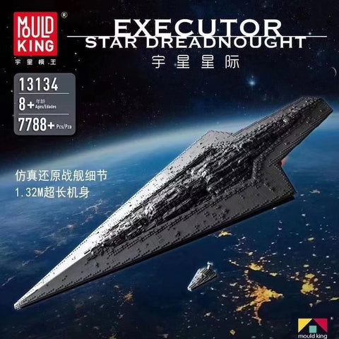 Mould King 13134 Executor class Star Dreadnought - Your World of Building Blocks