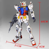 18K 1:60 RX78-2 Gundam - Your World of Building Blocks