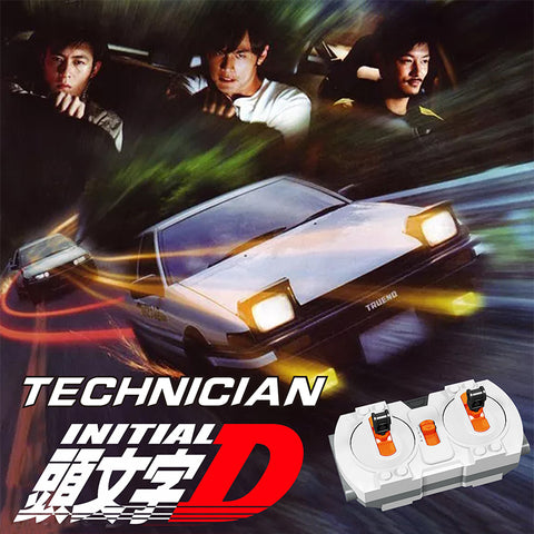 18K K81 Initial D RC Toyota AE86 with LED lights - Your World of Building Blocks