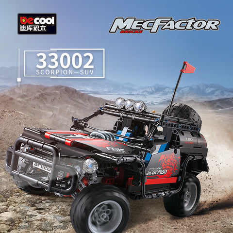 DECOOL 33002 SCORPION SUV jeep