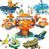 ENLIGHTEN 3712-3716 The Octonauts - Your World of Building Blocks
