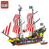 ENLIGHTEN 308 Pirate Ship Black Pearl - Your World of Building Blocks