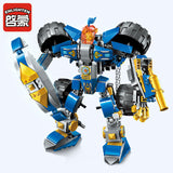 ENLIGHTEN 2313 The Machine Knight - Your World of Building Blocks