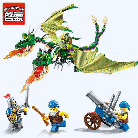 ENLIGHTEN 2311 The twin-headed dragon Jakiro - Your World of Building Blocks
