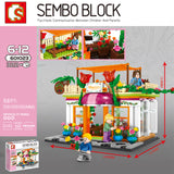 Sembo 601023 Florist Exclusive shop