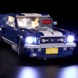 LED Light Kit For The Blue Vehicle Car Lepin 21047 - Your World of Building Blocks