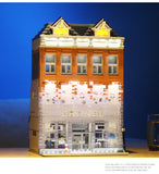 Mould King 16021 Chanel Crystal House with LED lights - Your World of Building Blocks