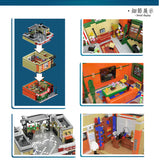 URGE 10189 Friend Apartment - Your World of Building Blocks