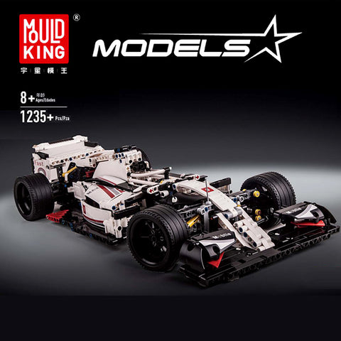 Mould King 13117 F1 Race Car - Your World of Building Blocks