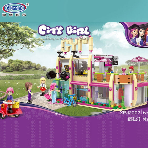 XINGBAO XB-12002 The Gym Club - Your World of Building Blocks