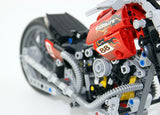 DECOOL 3354 Halley Motorcycle - Your World of Building Blocks