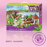 XINGBAO XB-12004 The Corner of the School - Your World of Building Blocks