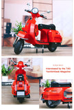 XINGBAO Dream Car Series XB-03002 The Vespa P200 Moto Set Building Blocks Bricks Toys Model - Your World of Building Blocks
