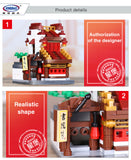 XINGBAO XB-01102 The Teahouse Library Cloth House Wangjiang Tower - Your World of Building Blocks