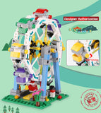 XINGBAO City Series XB-01106 The Ferris Wheel Set Building Blocks Bricks Toys Model - Your World of Building Blocks