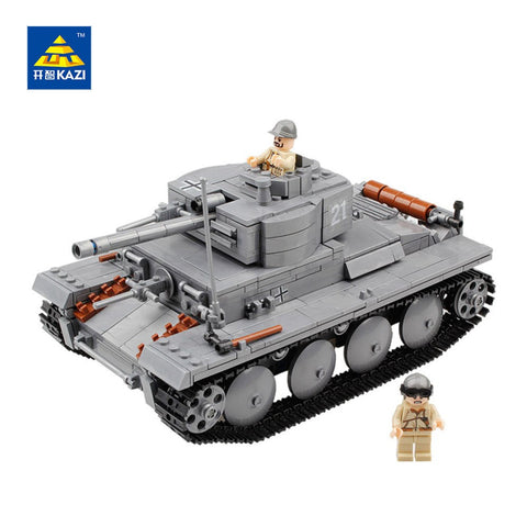 KAZI KY 82009 The Germany PZKPFW-II Tank - Your World of Building Blocks