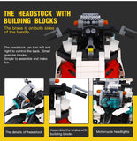 XINGBAO Technic Dream Car Series XB-03019 The Patrol Motorcycle Set Building Blocks Bricks Toys - Your World of Building Blocks