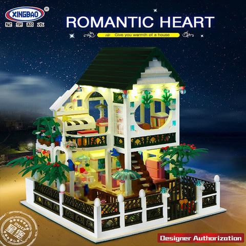 XINGBAO Movie Series XB-01202 The New Romantic Heart Set Building Block Bricks Toys Model - Your World of Building Blocks