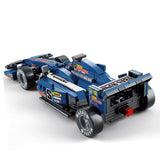 SLUBAN City Series M38-B0353 The F1 Blue Racing Car Set Building Blocks Bricks Toys Model - Your World of Building Blocks