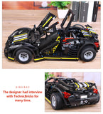XINGBAO Technic Dream Car Series XB-07002 The Balisong small Supercar Set Building Blocks Bricks - Your World of Building Blocks