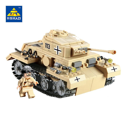 KAZI KY 82008 The Type G NO.3 Tank - Your World of Building Blocks