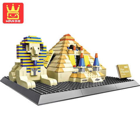 WANGE 4210 The Pyramids of Egypt - Your World of Building Blocks