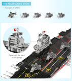 XINGBAO Military Series XB-06020 The Aircraft Ship Set Building Blocks Bricks Toys Model - Your World of Building Blocks