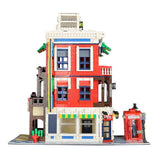 WANGE 6311 Corner Store - Your World of Building Blocks
