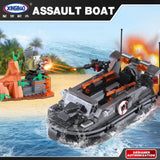 XINGBAO Military Series XB-06017 The Assault Boat Set Building Blocks Bricks Toys Model - Your World of Building Blocks