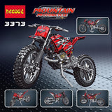 DECOOL 3373 2 In 1 Motor Cross Bike - Your World of Building Blocks