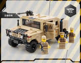 KAZI KY 98403 The Vehicle Hummer H1 - Your World of Building Blocks