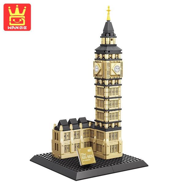 WANGE Building Series No.7012 Mini The Big Ben Of London Set Building Blocks Bricks Toys Model - Your World of Building Blocks