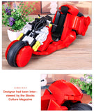 XINGBAO Dream Car Series XB-03001 The Citizen Akira Moto Set Building Blocks Bricks Toys Model - Your World of Building Blocks