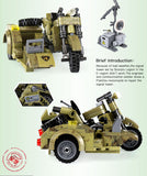 XINGBAO XB-06008 The Leaning Motorcycle - Your World of Building Blocks