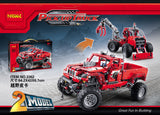 DECOOL 3362 Pick-Up Truck Truck 2 In 1 Transformable Model - Your World of Building Blocks