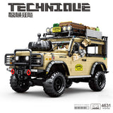 SY 8883 TECHINQUE:Land Rover Camel Trophy