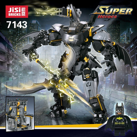 JISI 7143 Batman Armor with Foundation Base - Your World of Building Blocks