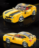 Quanguan 100146 Yellow Camaro Sports Car
