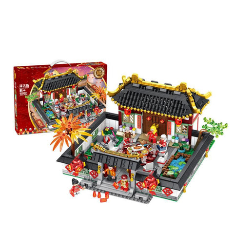 PANLOS 610001 New Year's Eve - Your World of Building Blocks