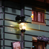 Basic Version LED Light Kit For The Old Fishing Store 16050 - Your World of Building Blocks