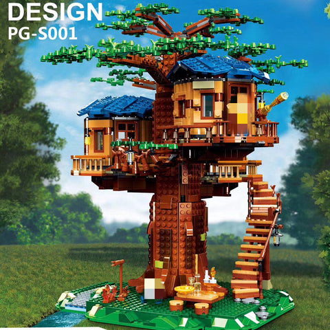 Pangu PG-S001 Small Tree House - Your World of Building Blocks