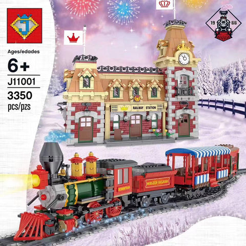 JACK J11001 Disney Train And Station - Your World of Building Blocks