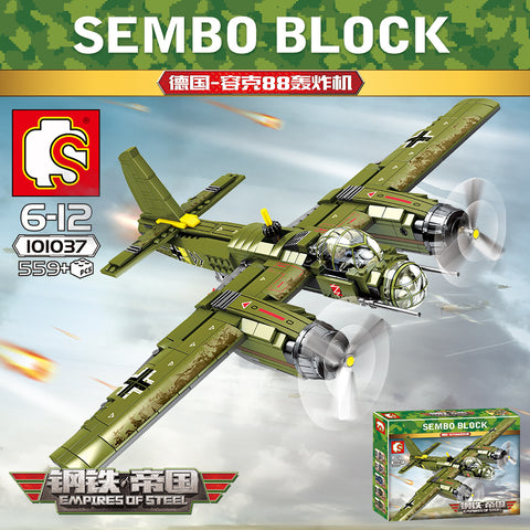 SEMBO 101037 JU-88 Bomber Fighter