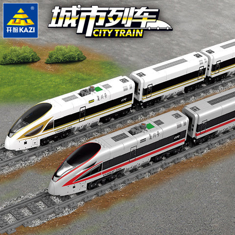 KAZI KY 98228 / 98229 RC Electric Revival Train - Your World of Building Blocks